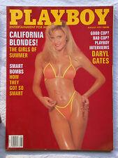 Original Playboy Magazine August 1991 Caprice California Blondes Corinna Harney