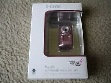 Brand New iHome Mylife Notebook Webcam 5.0MP Pink IH-W312NP