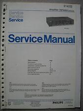 Philips 70 FA561 Verstärker Service Manual inkl. Service Info