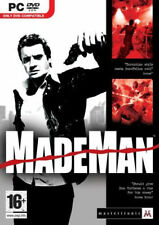 MadeMan (PC DVD Game) Brand New & Factory Sealed (Made Man PC) Free US Shipping
