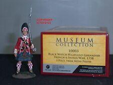 Britains 10003 Blackwatch HIGHLANDER Granatiere 1758 metallo giocattolo soldato figura