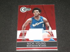 Nick Young Certified Authentic Game Used Jersey Basketball Card #41/249