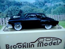 1/43 Brooklin models  1952 Studebaker champion white metal