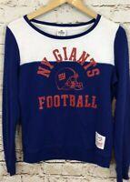 Victorias Secret PINK New York Giants sweatshirt womens small shirt  O5