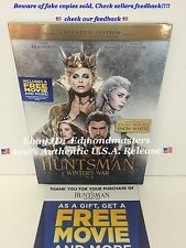 The Huntsman: Winters War  2016 DVD  100% AUTHENTIC (BEWARE OF CHEAP FAKES SOLD)