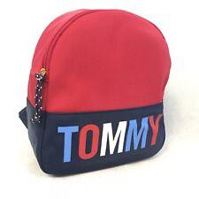 Tommy Hilfiger Handbag Purse Spell Out Color Block Backpack Bag Satchel NWT $88