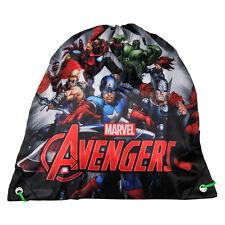 Marvel Avengers Shoe Bag Drawstring Gym Dance Swim Travel Boys
