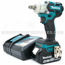 "Makita XWT11Z 18V LXT Brushless Cordless 5.0 Ah 3 Speed 1/2"" Impact Wrench Kit"