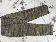 US ARMY SPECIAL FORCES TIGER STRIPE jungle BDU COMBAT TROUSERS M L Vietnam war
