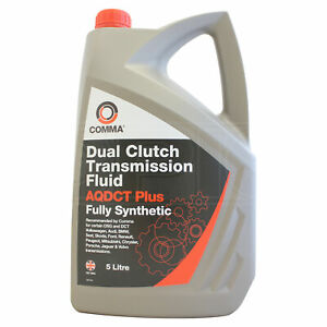 Comma AQDCT Plus Fully Synthetic Dual Clutch Transmission Fluid - 5 Litres 5L