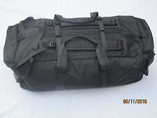 British Army Operational Deployment Travel Bag,schwarze Packtasche,85x30x30cm