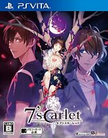7'scarlet PlayStation Vita Japanese ver,  PS VITA