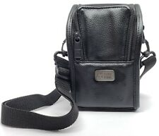 2 PACK LOT ⭐️Case Logic DC-50 Leather Medium Size Camera Case Bag x 2 ⭐️USA  ✓