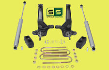 "2001 - 2010 Ford Ranger 2WD 4"" / 3"" Lift Kit Spindles/Lift Blocks/ 2 Rear Shocks"