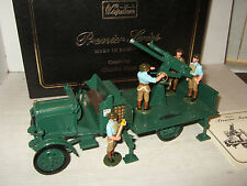 Britains 8926 Premier Series,Thornycroft Anti aircraft Truck & 4 Man Detachment