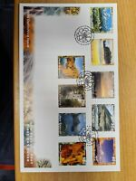 New zealand stamps  1996  Defins  set on FDC