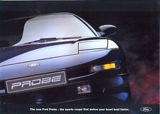 Ford Probe 1994 UK market pre-launch sales brochure