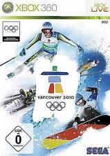 XBOX 360 VANCOUVER 2010 OLYMPIADE * DEUTSCH * BRANDNEU