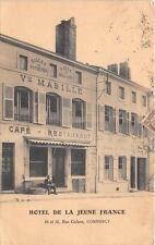 CPA 55 COMMERCY HOTEL DE LA JEUNE FRANCE RUE COLSON