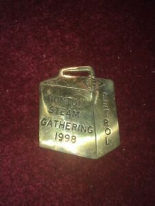 Brass horseshoe - HUNTON STEAM GATHERING 1998