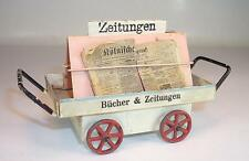 Märklin Spur 0 Blech 2628 Bahnsteig Zeitungswagen 30/40er Jahre #1144