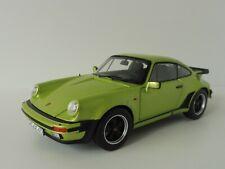Porsche 911 Turbo 3.3 1978 Silvergreen 1/18 Norev 187577 Modelo G 1963