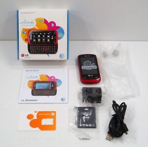 New LG Xpression Slide Cell Phone 3G Check for Activation AS IS See AD