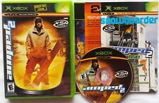 AMPED 2 SNOWBOARDING MICROSOFT XBOX GAME SNOW BOARDING COMPLETE FREE SHIPPING @@