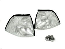 DEPO 92-99 BMW E36 2D Coupe & Convertible Euro Clear Corner Light + Chrome Bulbs