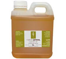 MACADAMIA OIL - COLD PRESSED VIRGIN (AUSTRALIAN) - 100% PURE CARRIER OIL - 1L