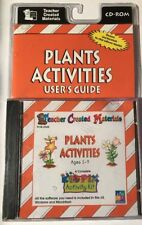 Teacher Created Materials Plant Activities User's Guide Cd-Rom Age 5-9