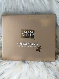 Laura Geller HOLIDAY PARTY Eye and Cheek Palette - New