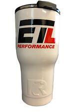 White ETL Performance 20 OZ. RTIC Tumbler