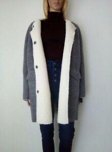 LPB WOMAN : Manteau chaud oversize avec 35% de laine taille M/38/40 SUPERBE