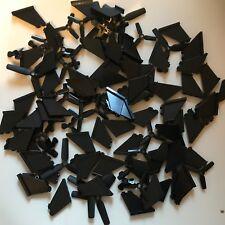 110 LEGO brand new - Black - Propeller & rudder - Helicopter parts marvel city