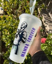Starbucks Laker Kobe Bryant Venti Reusable Cold Cup 24Oz With Lid And Straw