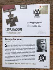 GB COVER 2015 WWI , Victoria Cross For Valour, Seaman George Samson