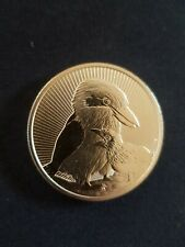 2oz 2020  Perth Mint Piedfort Kookaburra  Mother and Baby  Silver Coin