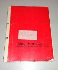Betriebsanleitung / Teilekatalog Losenhausen Vibromax Rüttler AW 750