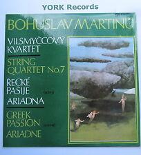 8116 0025 - MARTINU - String Quartet No 7 / Greek Passion / Ariadne Ex LP Record