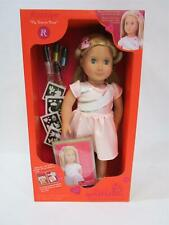 NEW - RRP $80 - Our Generation Doll Rosalyn 46cm with Accessories