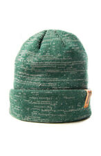 Durkl Unisex Heather Green Naval Beanie Cap 3067 $40 NEW