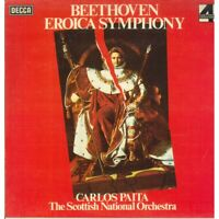 Beethoven The Scottish National Carlos Paita LP Vinyle Eroica Symphonie Neuf