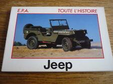 JEEP, TOUTE L'HISTOIRE CAR BOOK