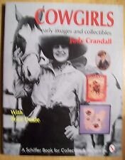 VINTAGE COWGIRLS WESTERN PRICE GUIDE COLLECTOR'S BOOK COW GIRL