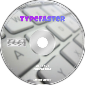TypeFaster - Touch Typing Tutor Software - Learn to Type Course CD DVD
