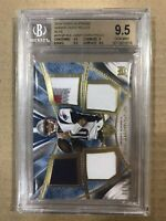 2014 JIMMY GAROPPOLO TOPPS SUPREME BLUE QUAD PATCHES /15 BGS 9.5 49ers ROOKIE RC