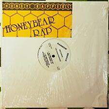 "The Honeyrappers - Honeybear Rap 12"" RARE Vinyl Record SEALED"