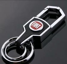 New Auto Car Keyring Key Decoration for Fiat Abarth Logo Keychain Key Holder