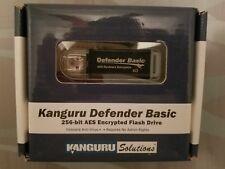 Kanguru Defender Basic 256-bit Encrypted Secure Flash Drive KDFB-4G Sealed!